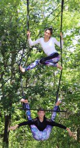 Alice et Artémis, les profs d'acrobatie